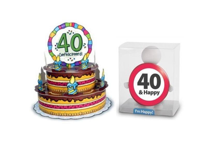 Uitzonderlijk Grappige 40 jaar verjaardag cadeaus - Feestartikelen.nl &HI76