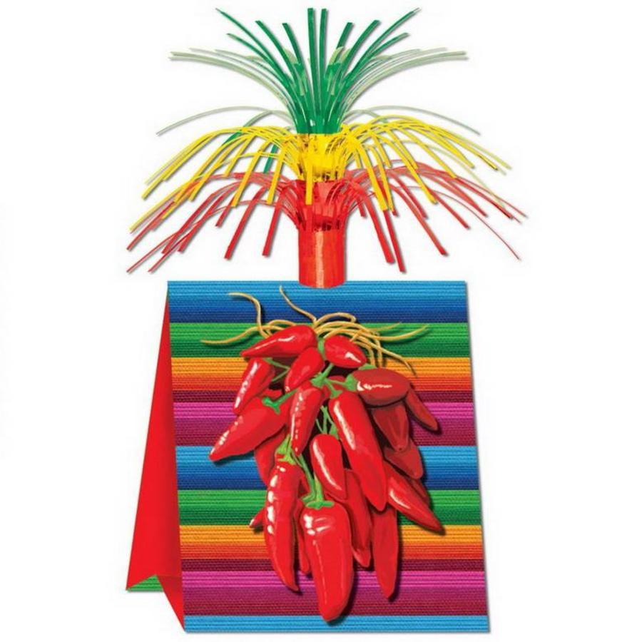 Tafeldecoratie Mexicaanse Pepers