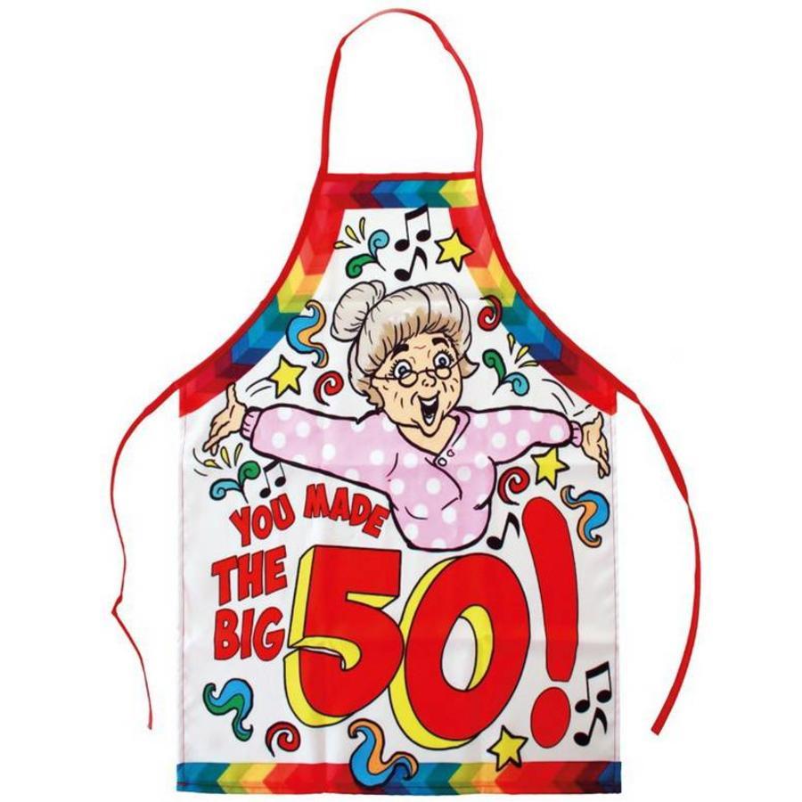 Schort 50 jaar Sarah