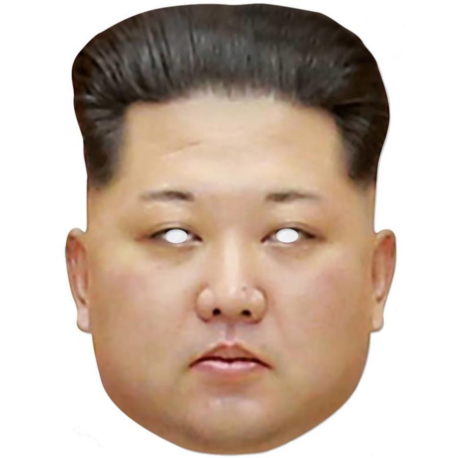Masker Kim Jong-un
