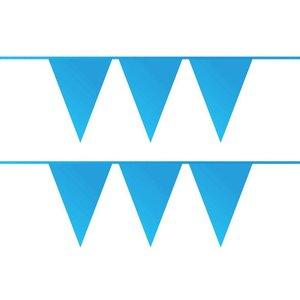 Vlaggenlijn blauw plastic 10 meter