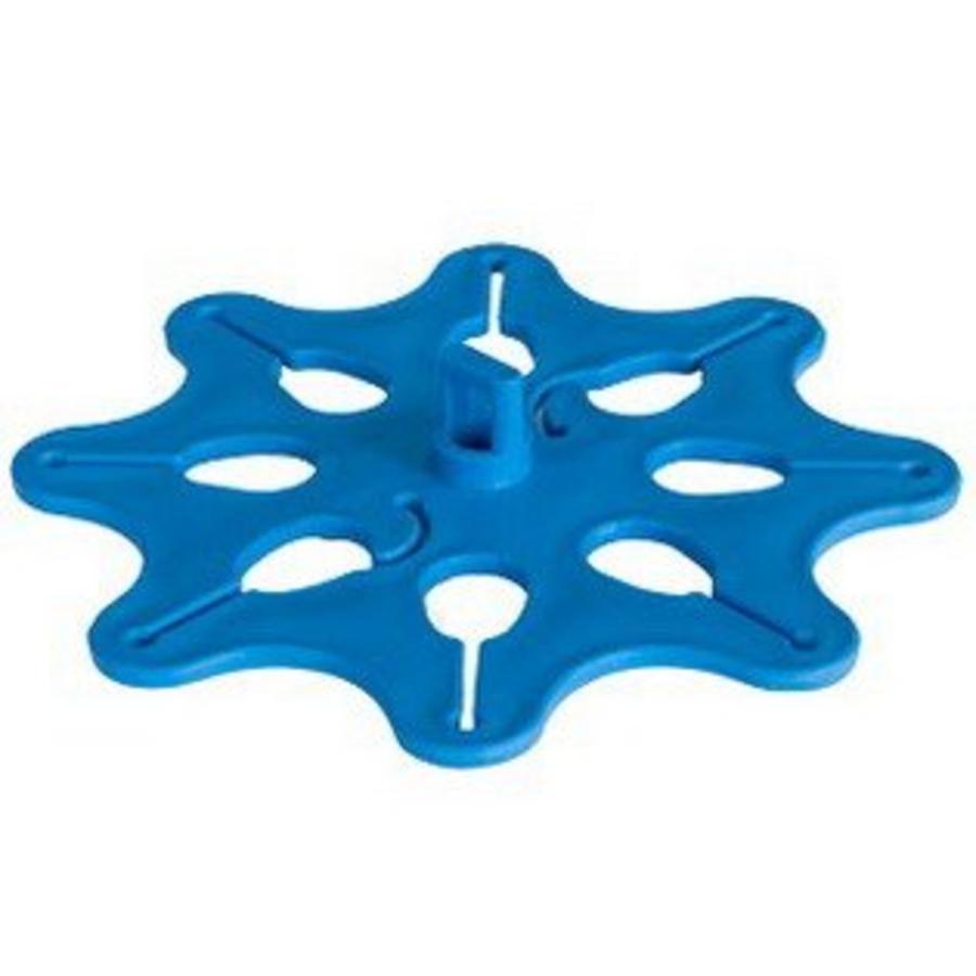 Ballondisk voor grote trossen ballonnen blauw