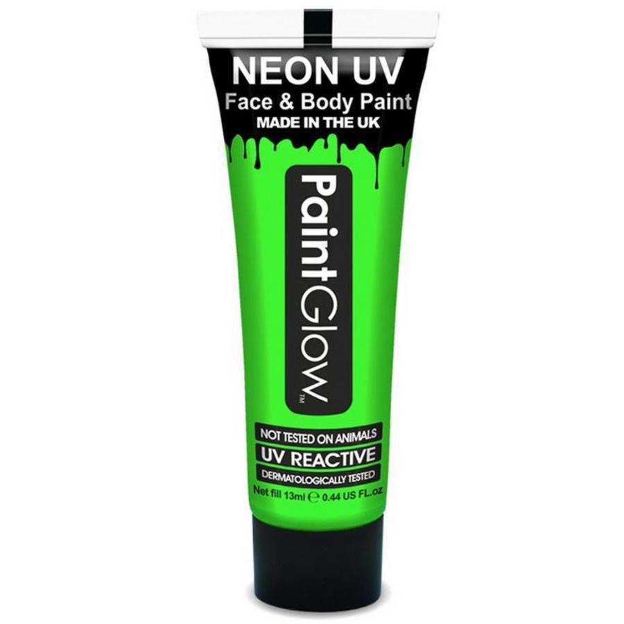 Neon UV paint glow groen