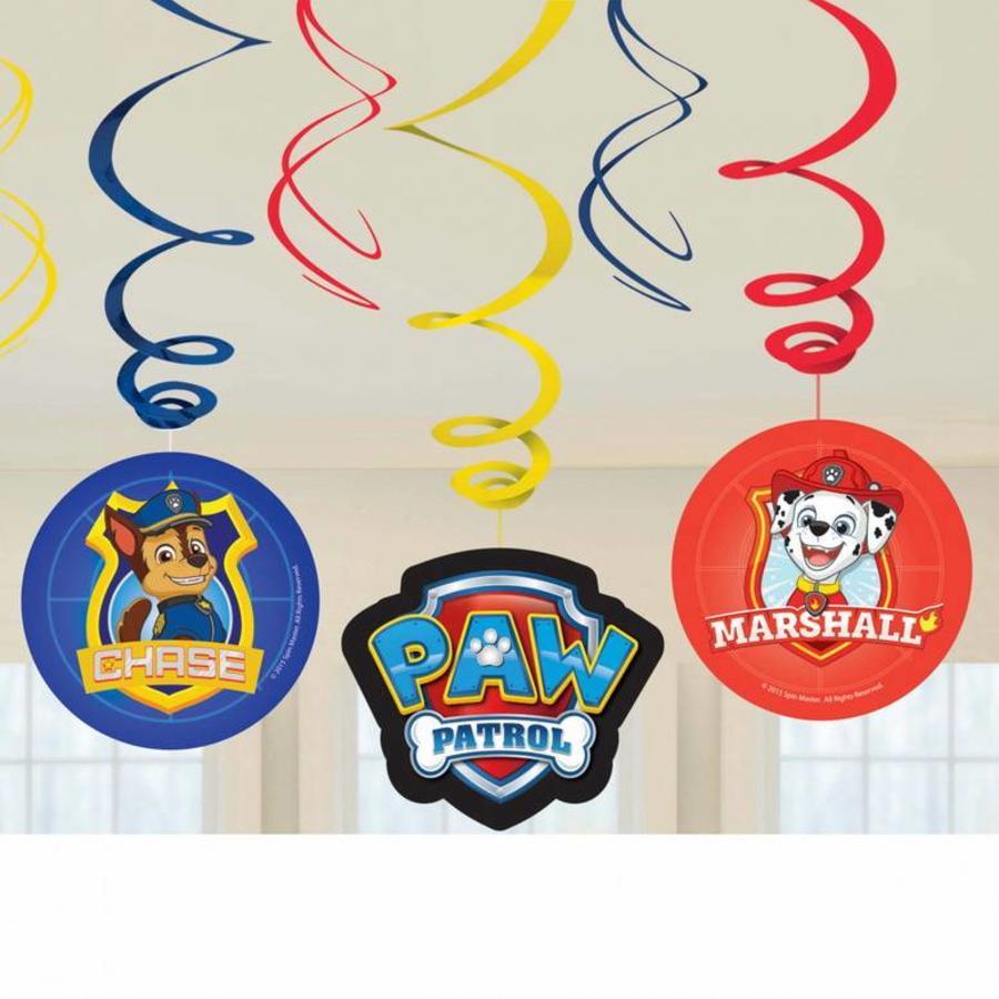 Hangdecoraties Swirls Paw Patrol nieuw