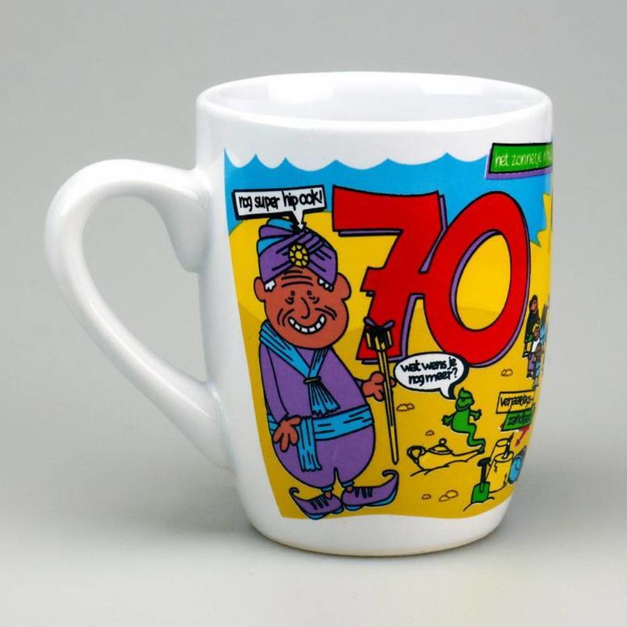 Mok cartoon 70 jaar