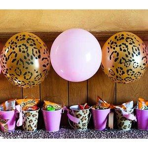 Ballon Luipaard Qualatex 6 stuks