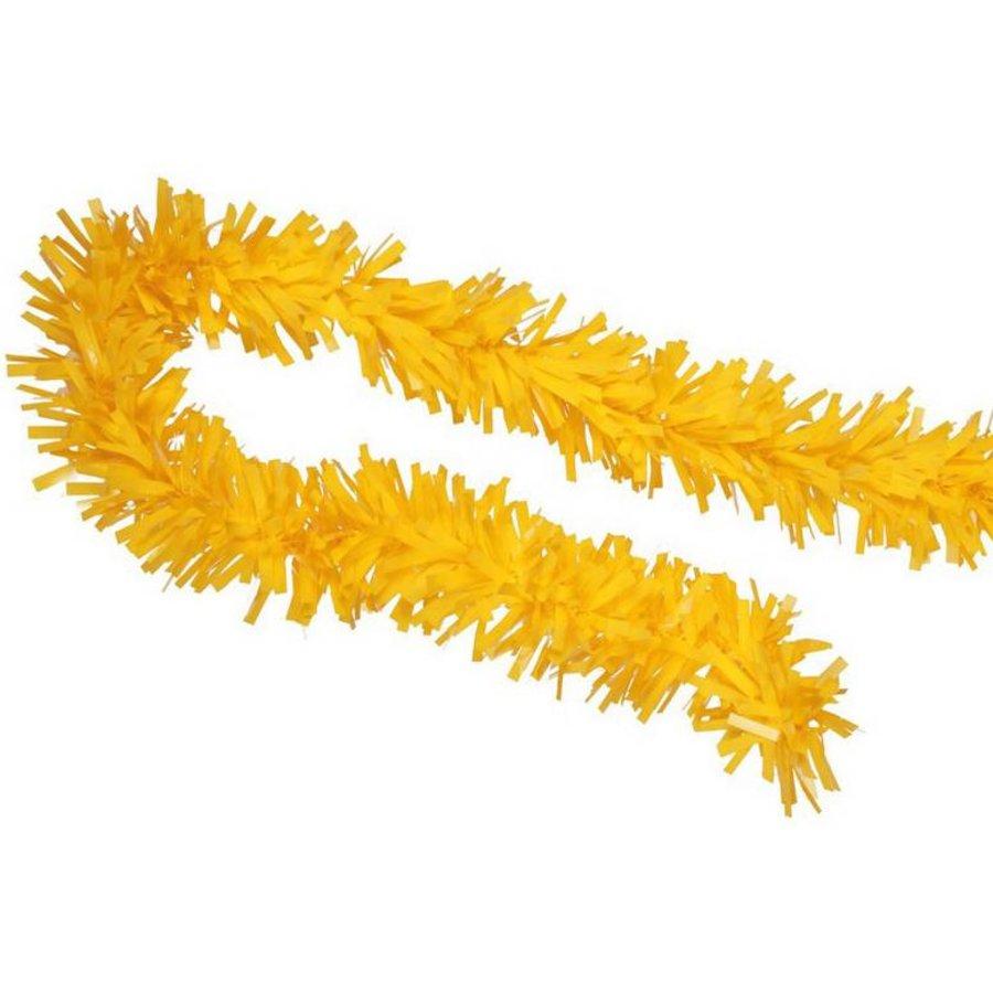 Brandvertragende slinger geel plastic 10 meter