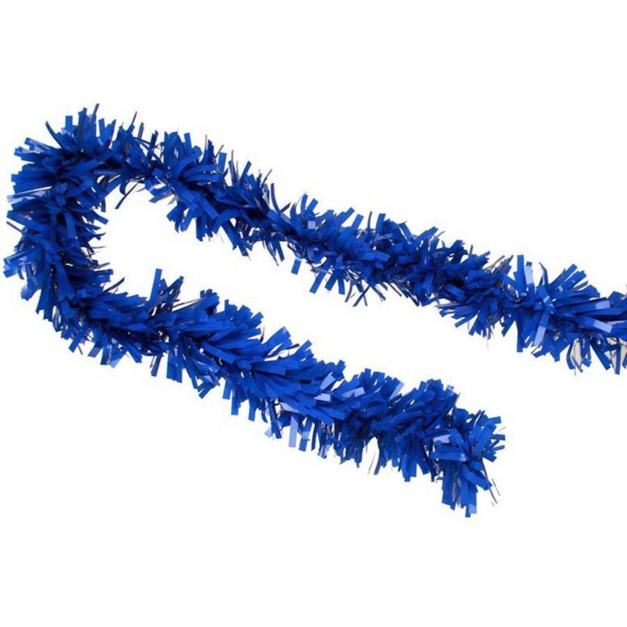 Brandvertragende slinger plastic blauw 10 meter