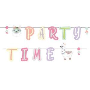 Letterslinger Lama Party Time