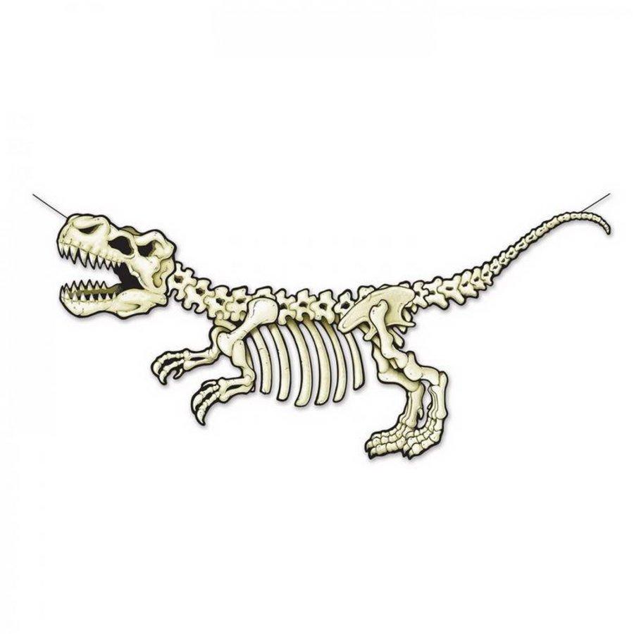 Decoratie T-Rex Dinosaurus skelet groot