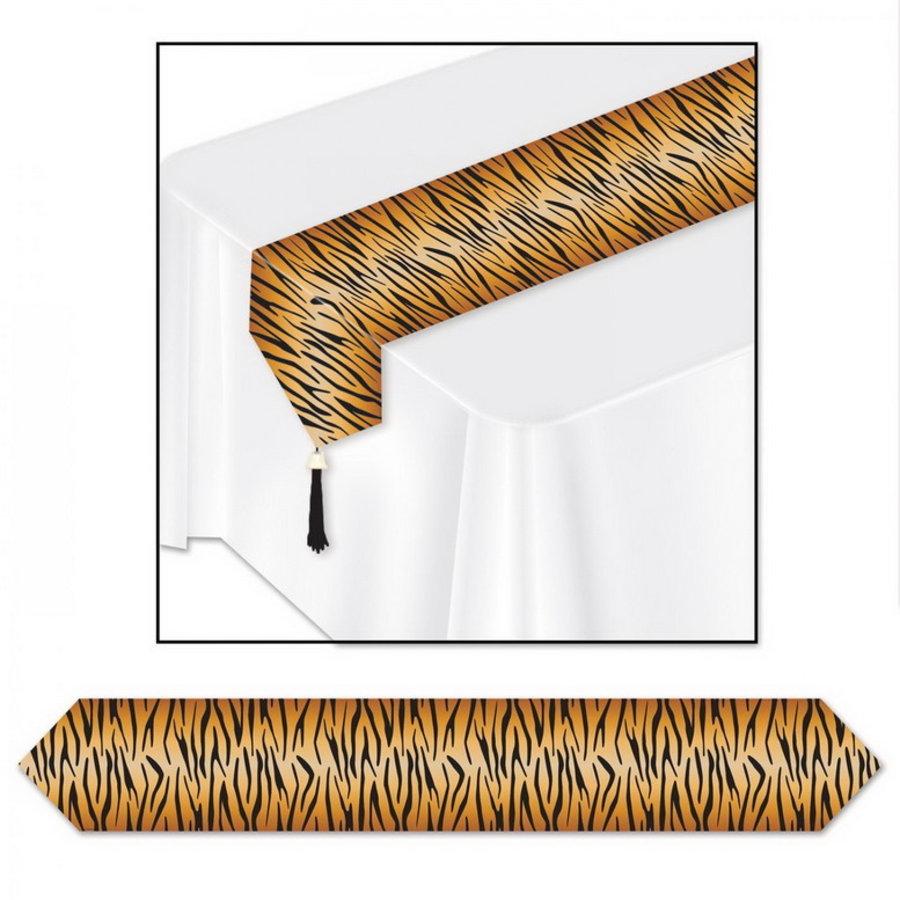 Tafelloper met tijger print