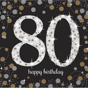 Verwonderend 80 jaar feestartikelen en slingers voor een top verjaardag FF-81