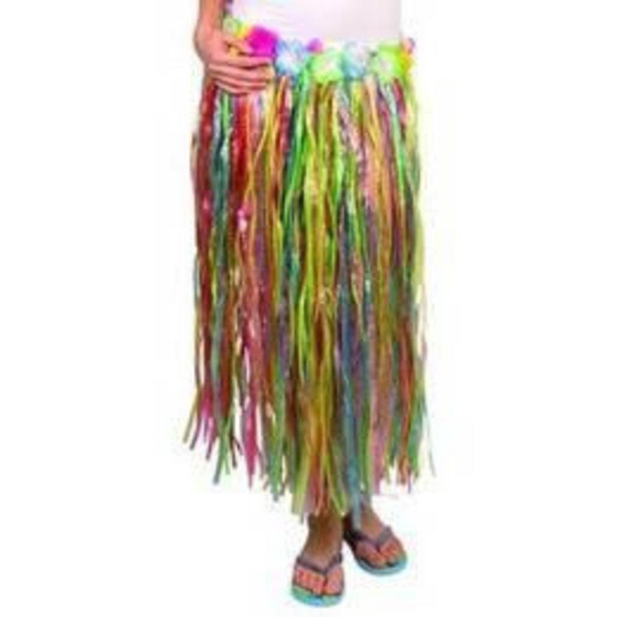 Hawaii rok gekleurd lang