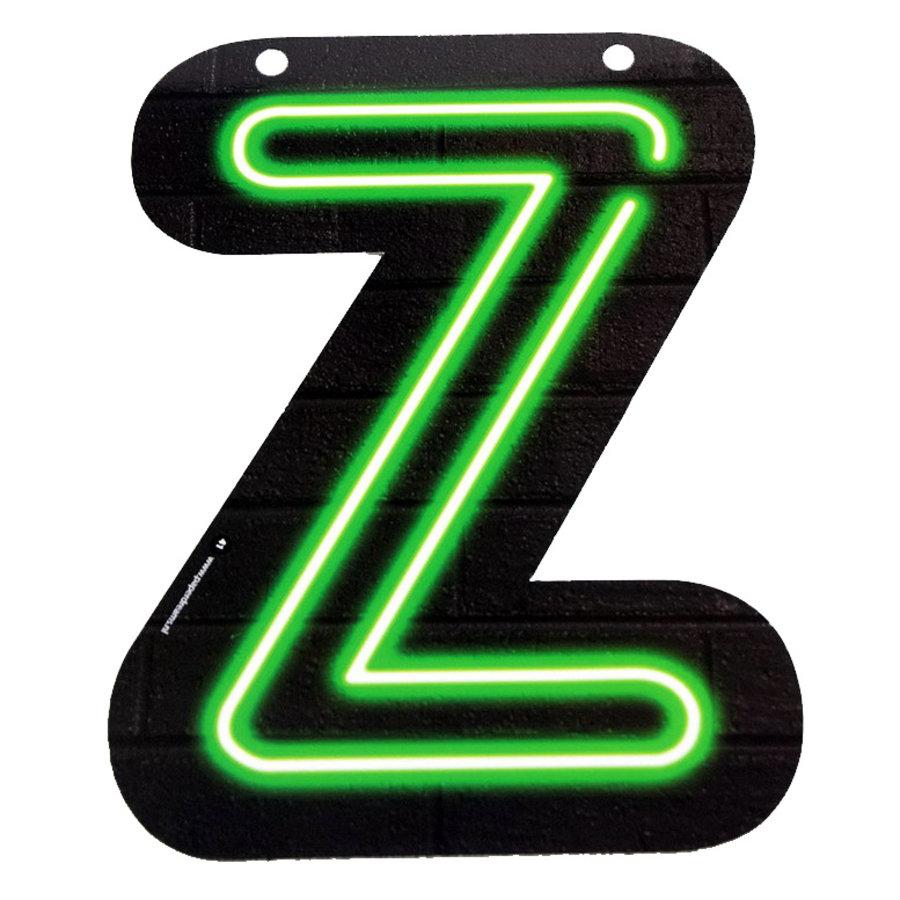 NEON letter Z voor naamslinger