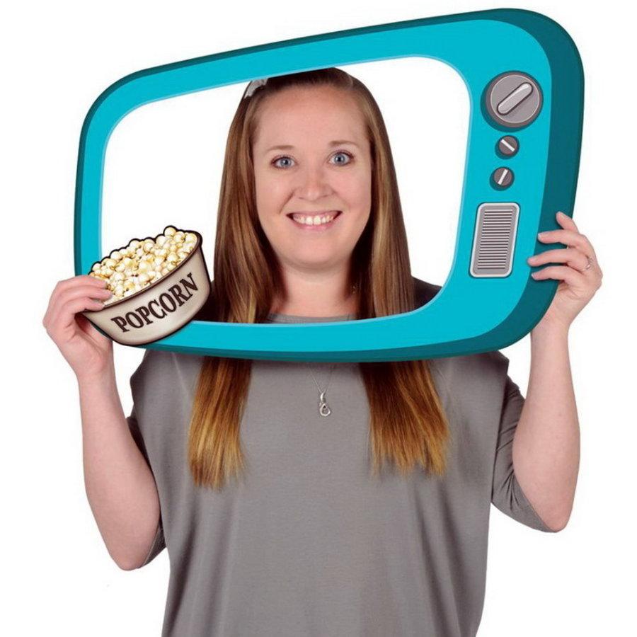 Selfie Foto Fun TV decoratie