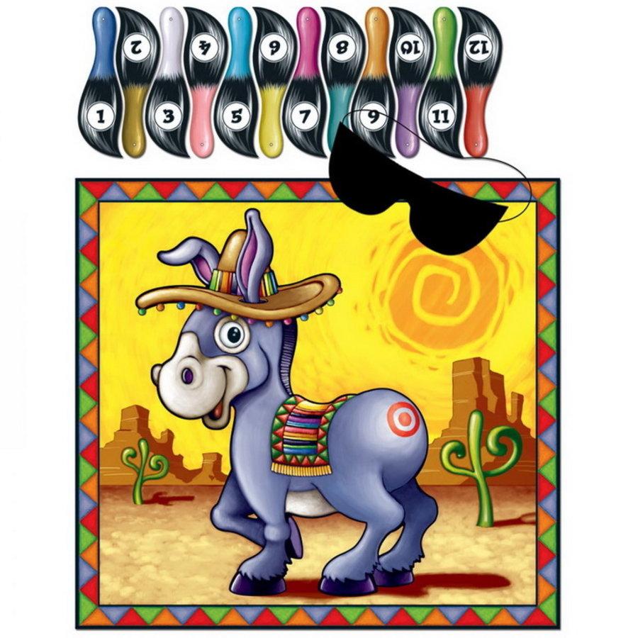 Donkey Game Ezeltje Prik