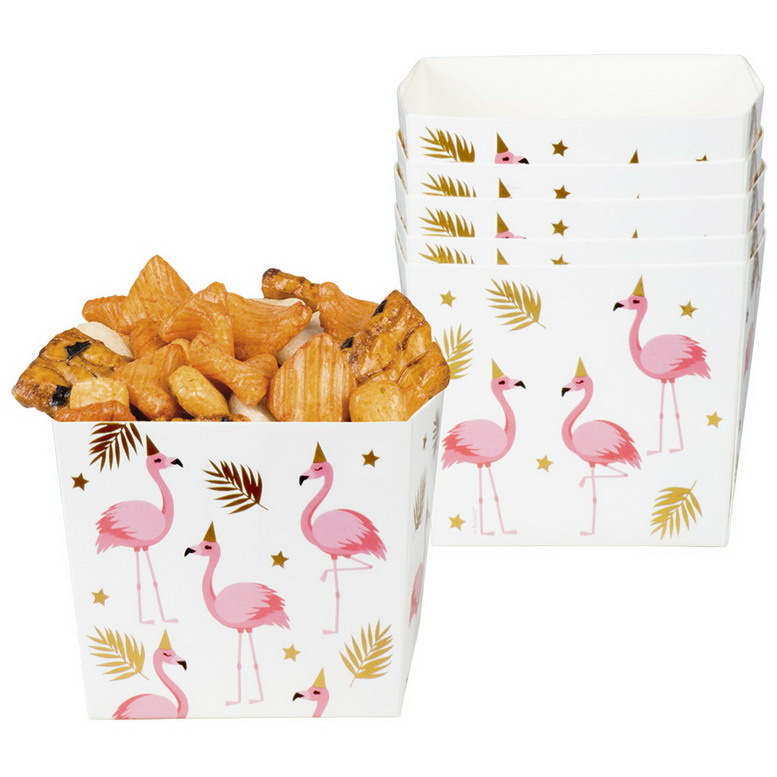 Snackbakjes Flamingo