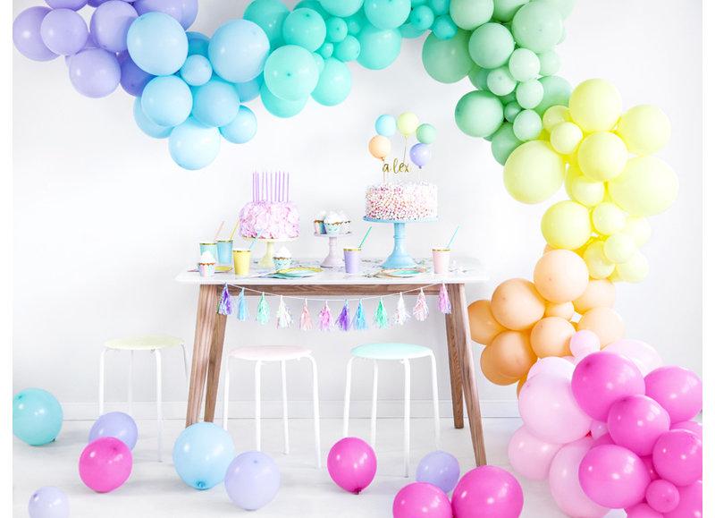 Pastelkleurige ballonnen