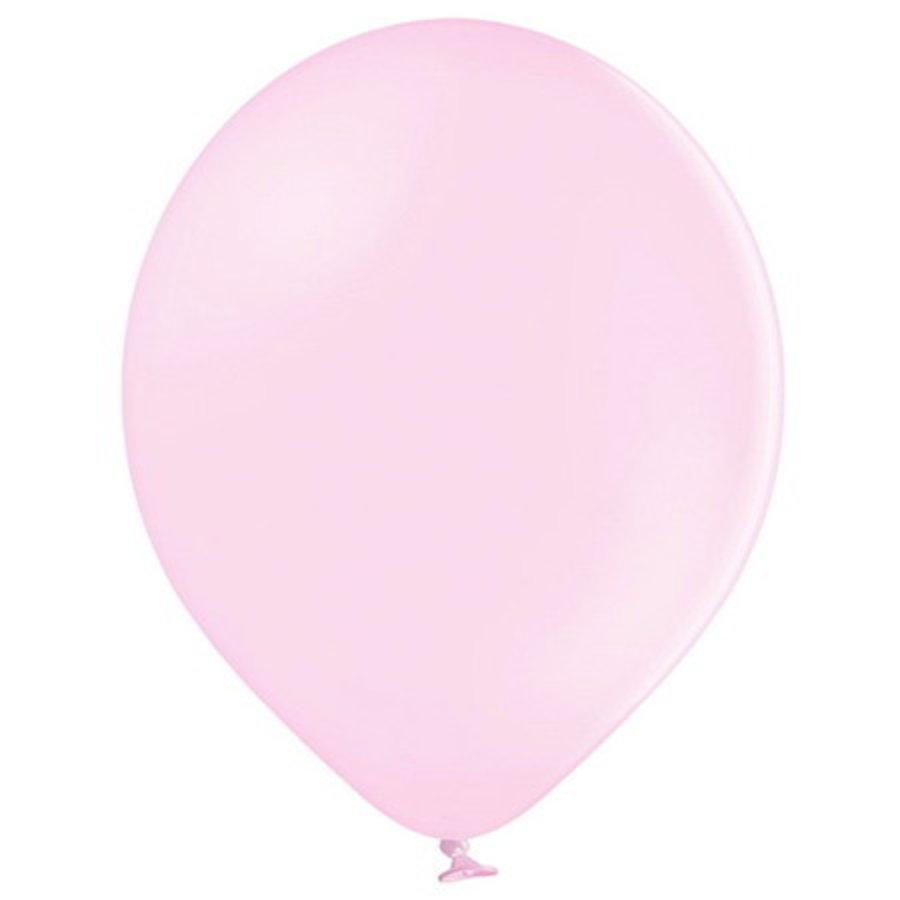 Ballonnen pastel pink 10 stuks