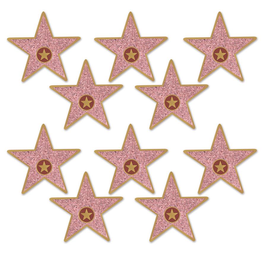 Hollywood Walk of fame ster mini 10 stuks