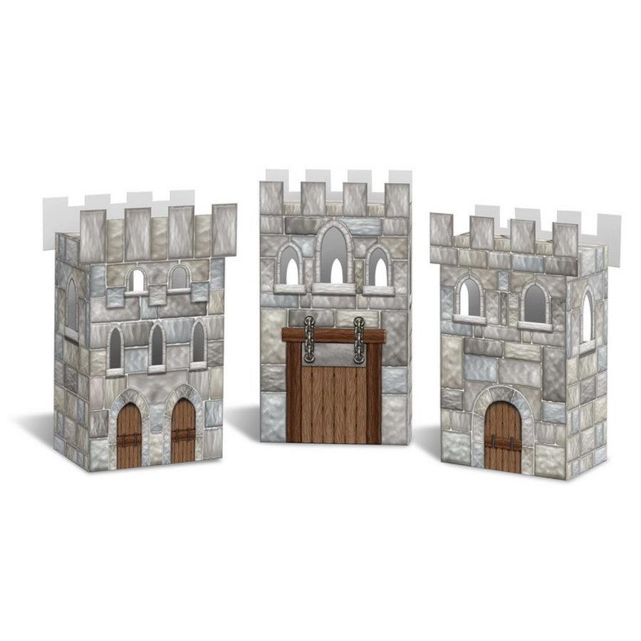 Snackbakjes Ridder kasteel 3 stuks