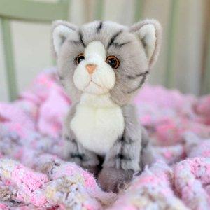 Pluche knuffel Tabby Kat luxe