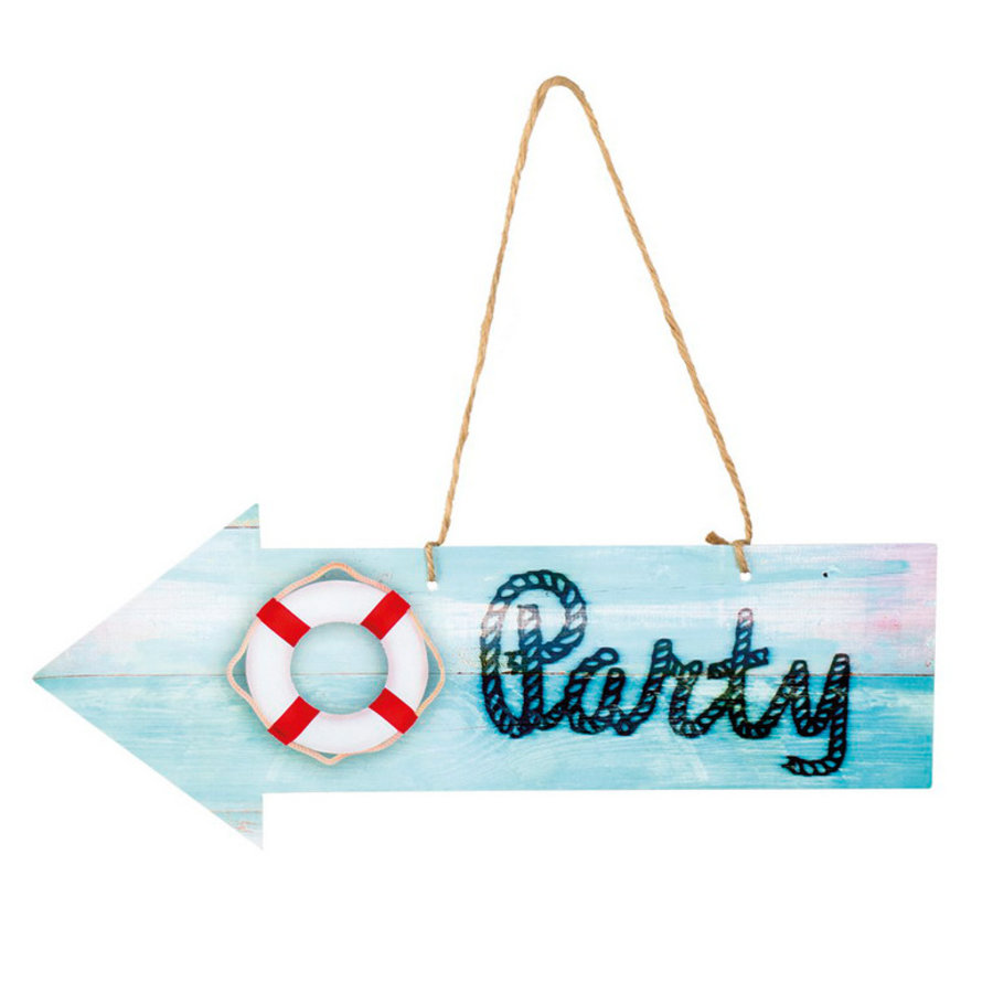 Decoratie Party sign bootfeest