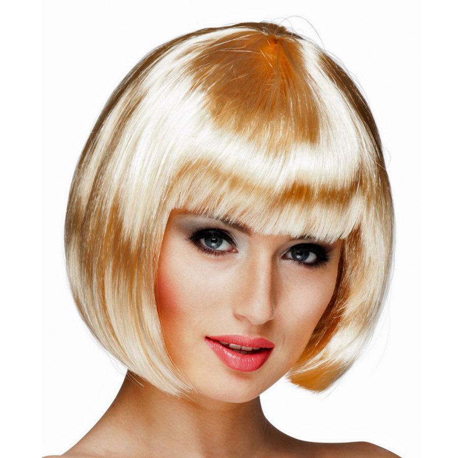 Boblijn Pruik blond