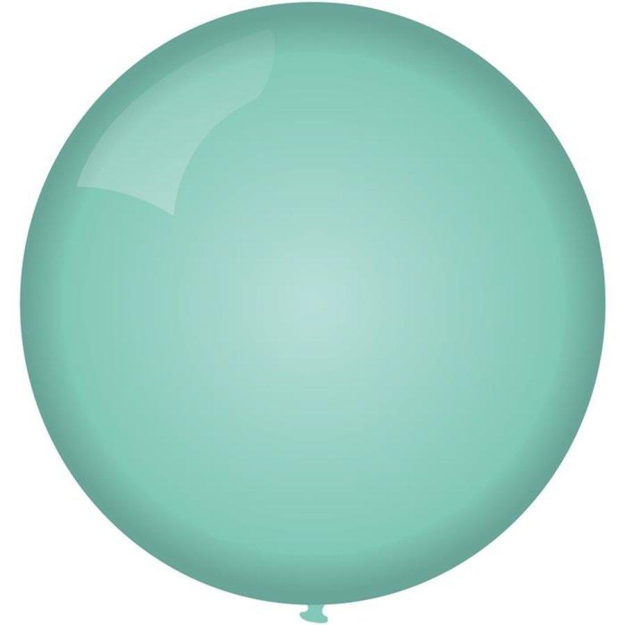 Ballon jumbo mintgroen 90cm