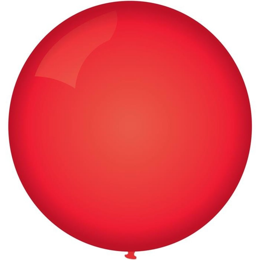 Ballon jumbo rood 90cm