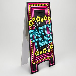 NEON Partybord Party Time