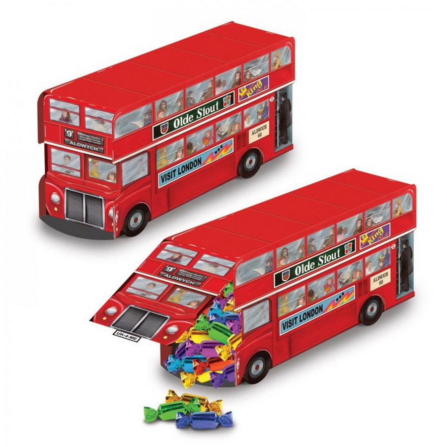 Tafeldecoratie Double Decker bus