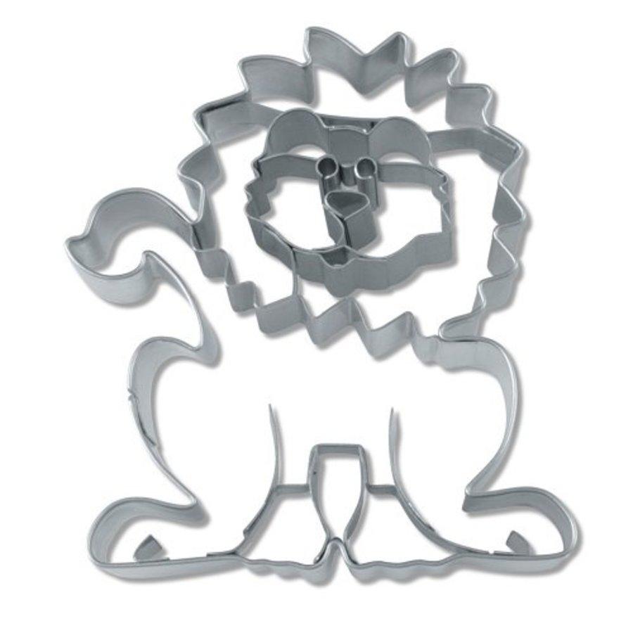 Uitsteekvormpje leeuw voor koekjes