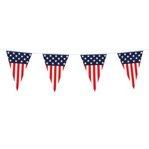 Vlaggenlijn USA Stars en Stripes 6 meter