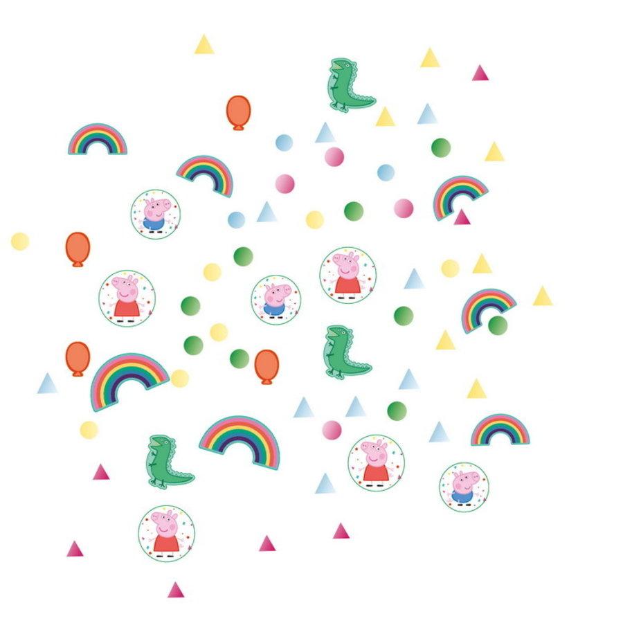 Confetti Peppa Pig en George rainbow