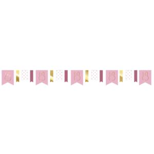 Slinger Nijntje luxe goud-roze