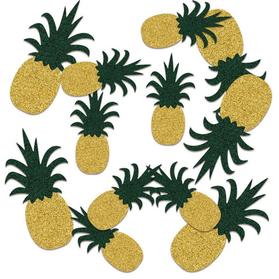 Confetti glitter ananas luxe