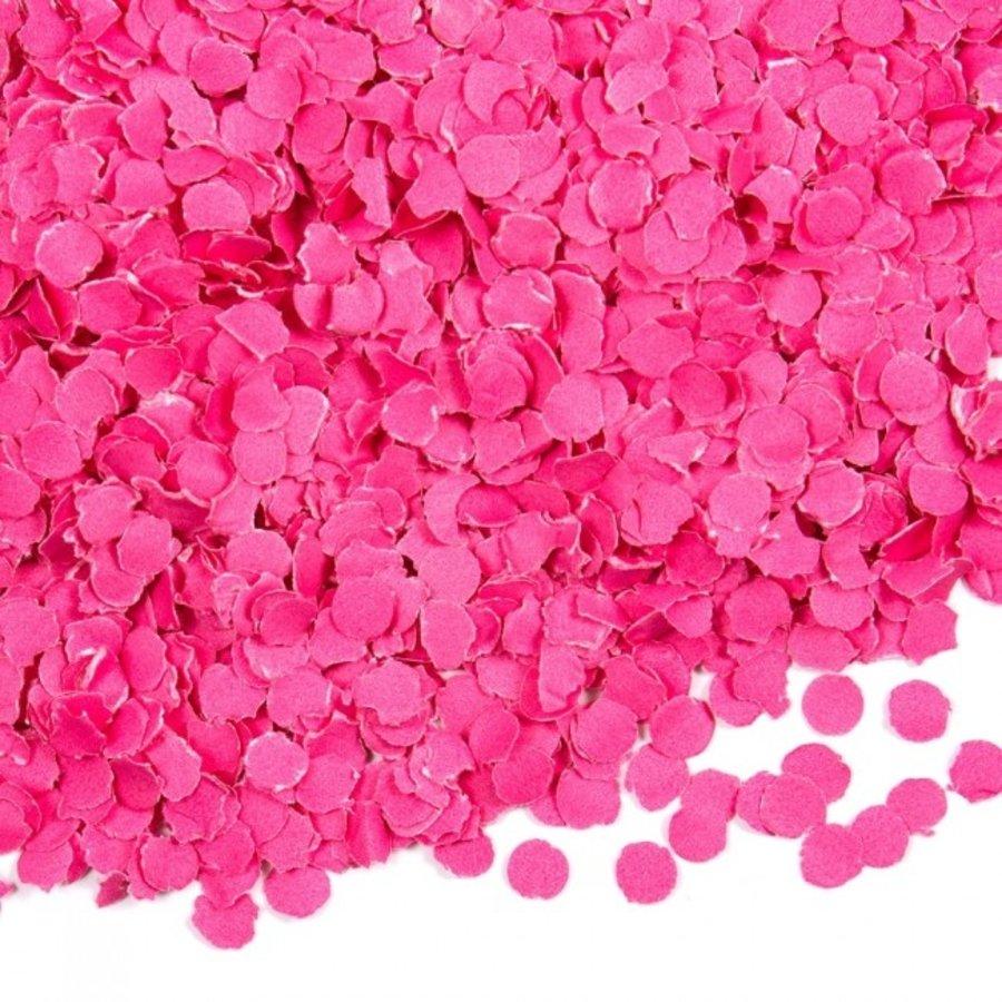 Confetti 100 gram donkerroze