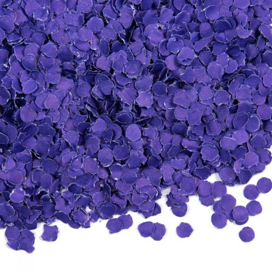 Confetti 100 gram donkerpaars