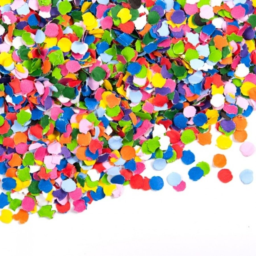 Confetti gekleurd 1 kilo