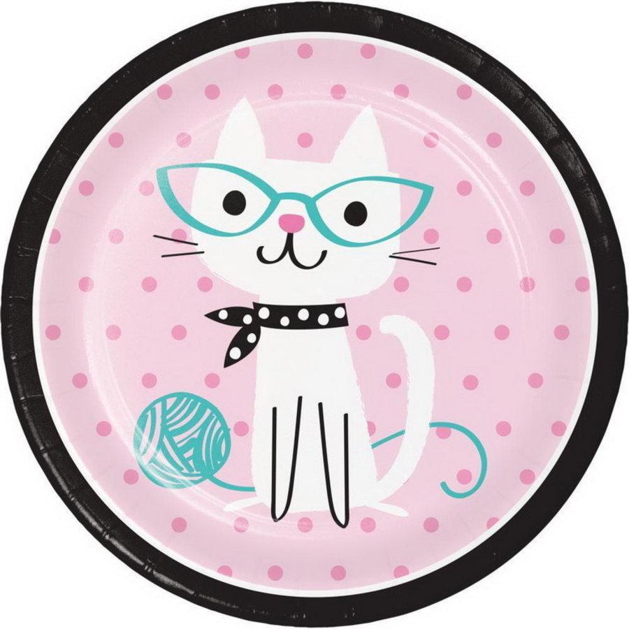 Bordjes Party Cat  8 stuks
