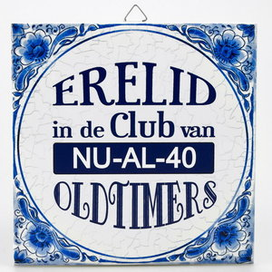 Goede Grappige 40 jaar verjaardag cadeaus - Feestartikelen.nl WW-53