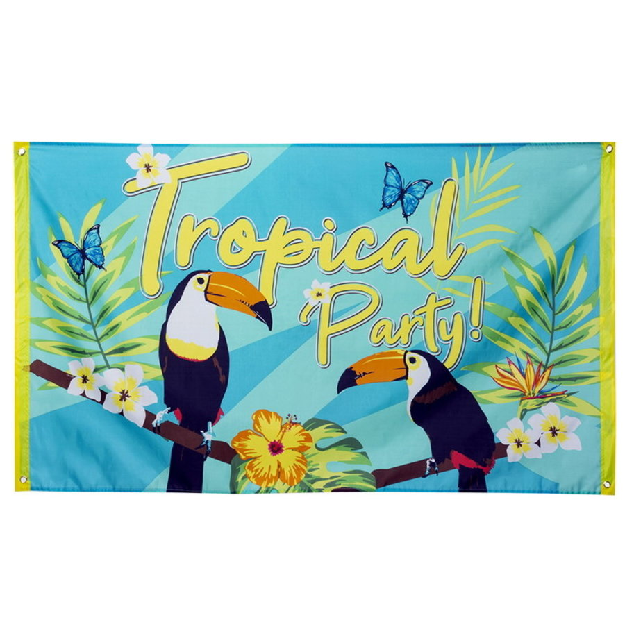 Vlag Toekans Tropical Party