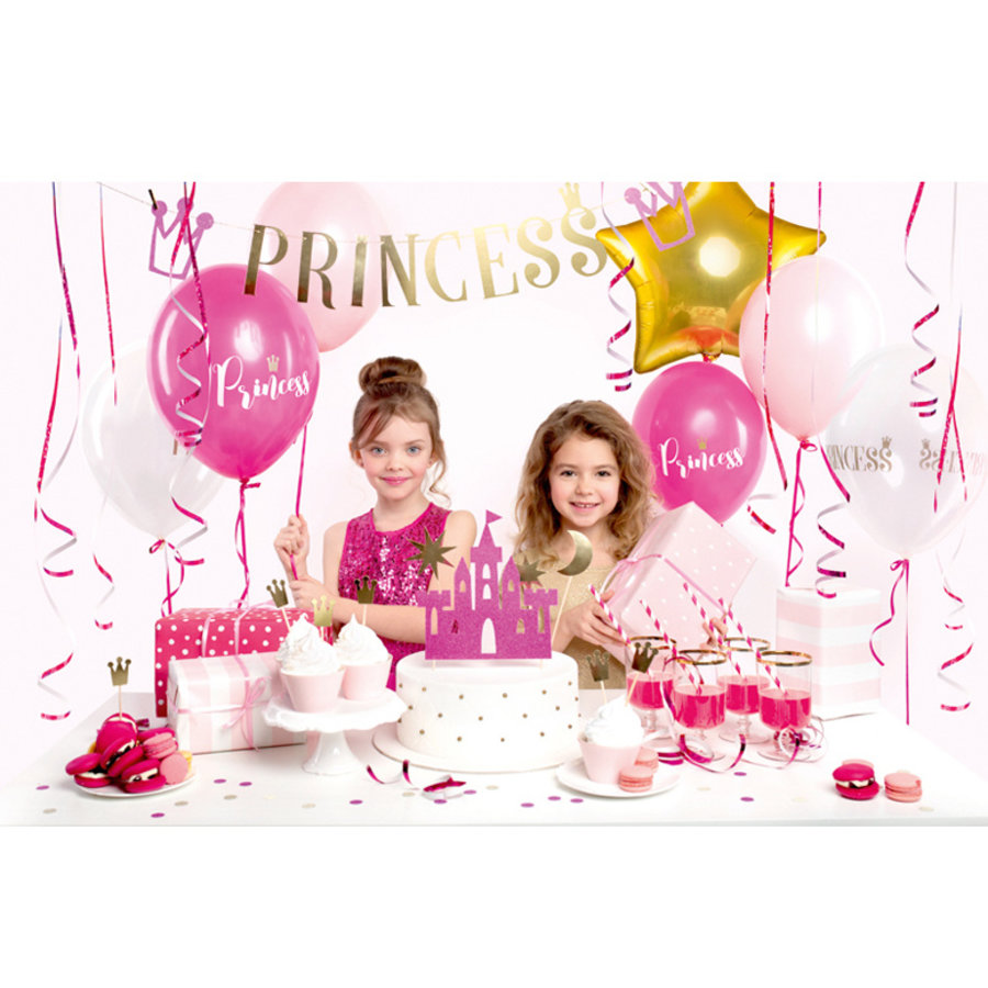 Feestpakket Prinses luxe 31-delig