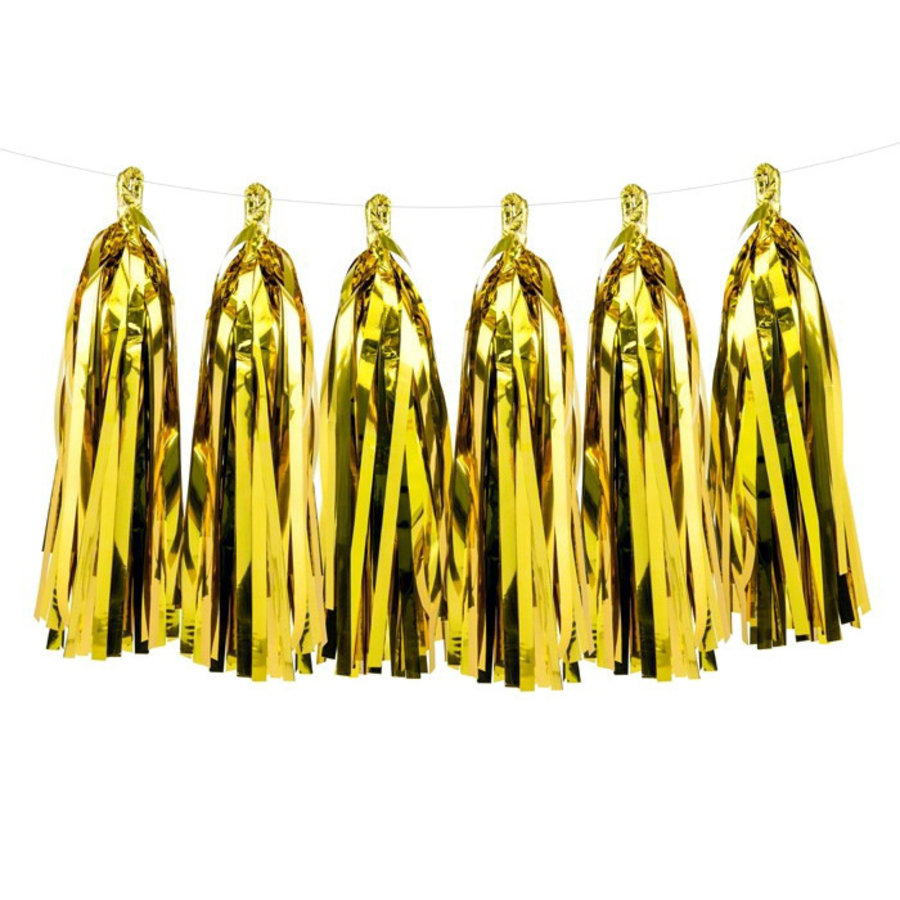 Slinger Tassel goudkleurig DIY