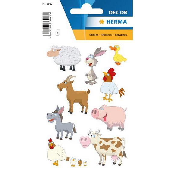 Stickers Boerderij dieren 27 stuks