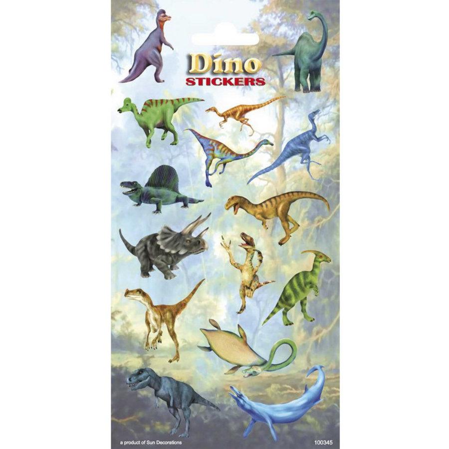 Stickers Dinosaurus 15 stuks