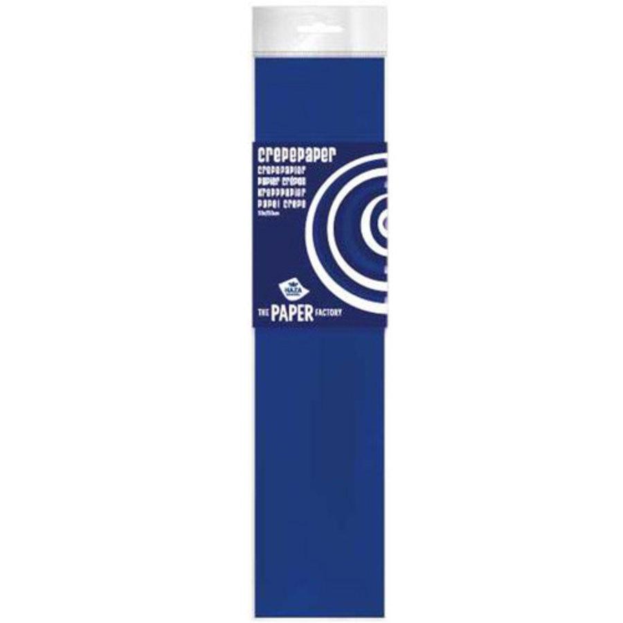 Crêpepapier donkerblauw