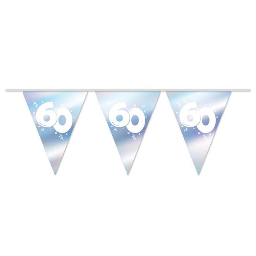 Vlaggenlijn 60 jaar getrouwd diamant