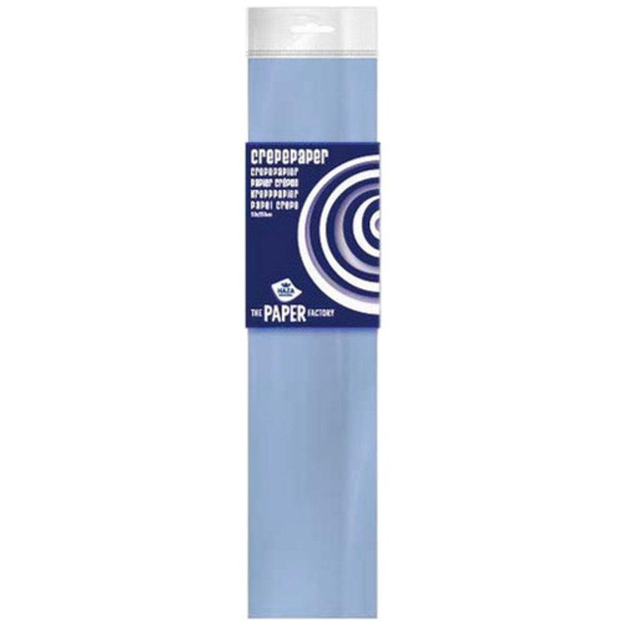 Crêpepapier lichtblauw